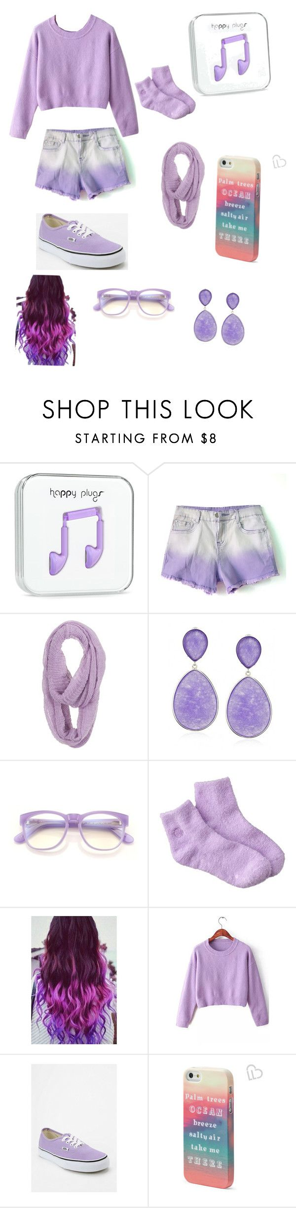 """Prettiest Lavender Outfit"" by nateya1222 ❤ liked on Polyvore featuring maurices, Earth Therapeutics, Vans and Aéropostale"