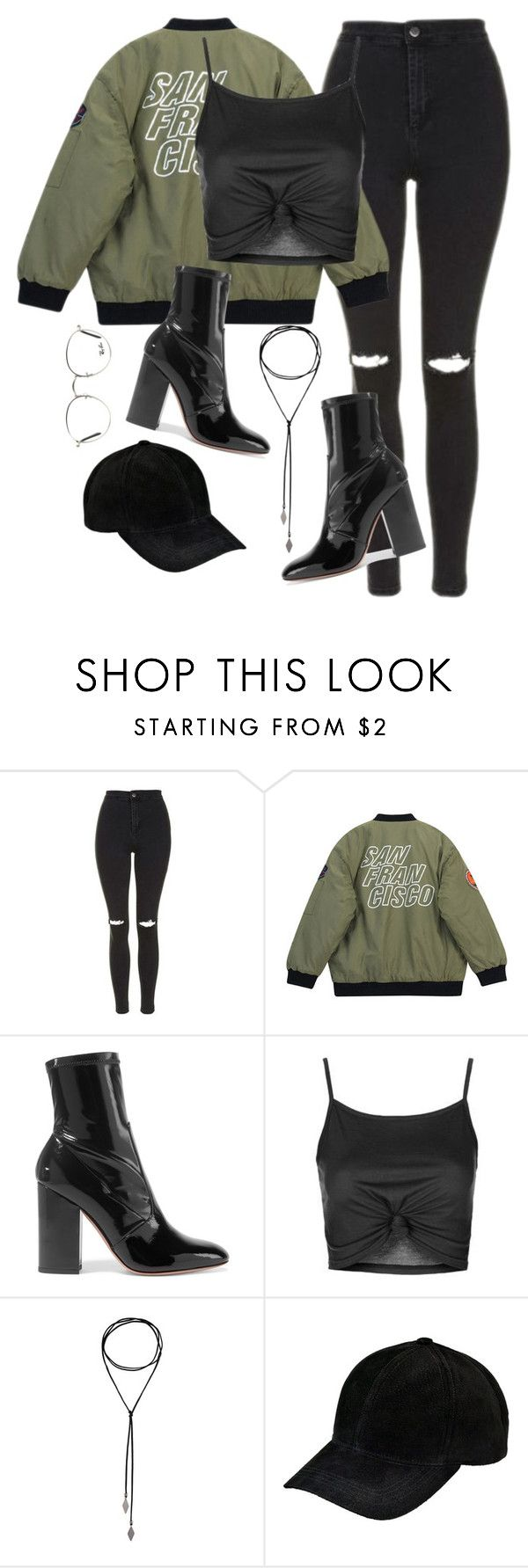 """Başlıksız #1354"" by zeynep-yagmur ❤ liked on Polyvore featuring Topshop, Chicnova Fashion, Valentino and Ray-Ban"
