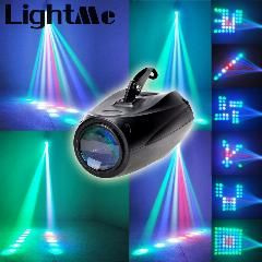 Ac 90 – 240V 10W 64 Leds Rgbw Pattern Stage Light Auto Voice-Activated Projector Lighting Perfect For Disco Club Ktv Party