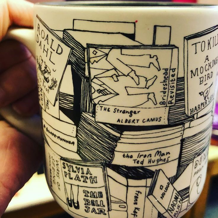 My lovely Mumra bought this mug for work which I absolutely love. Coffee and books are the perfect blend. I think I have read most of them too! #librarian #libraries #coffeebreak #coffee #mug #coffeemug #mugoftheday #bookstagrammer #booknerd #bookstagram #bookcommunity #reading #read