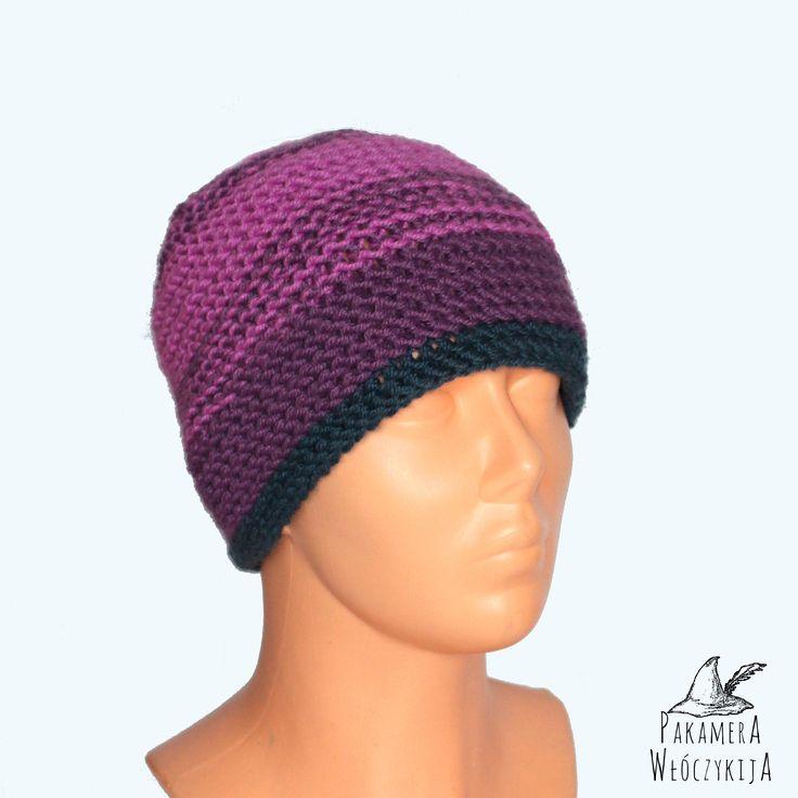 Ciepła, miękka i przyjemna czapka.  http://pakamera.wix.com/pakamera-wloczykija#!majowy-bez/c1o9t