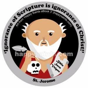 IgnoranceofscriptureisignoranceofChrist.-St. Jerome(347-420)wasabiblicalscholarandsag ewhotranslatedtheBibleintoLatinfromHebrew andGreek.Hewasahot-temperedman,buthe wasalsogreatlyawareofhisownsinsandGod'sforgiveness.HistranslationoftheBible,knownasthe'LatinVulgate',wastheofficialtextoftheCath olicChurchformanyyears.HestudiedinRome…