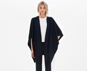 Filippa K sweater / cape #minimalist #fashion