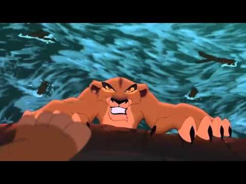 The Lion King 2 Simba's Pride Zira's Death - YouTube