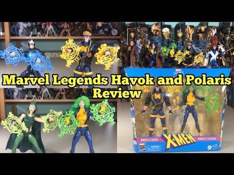 MARVEL LEGENDS HAVOK GIANT MAN BAF TOYBIZ 2006 X-MEN Bonus Comic Book