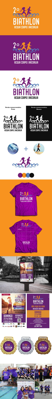 Criado a marca para o segundo evento do Biathlon em Jaguariúna para a Acqua Corpo escola de natação.