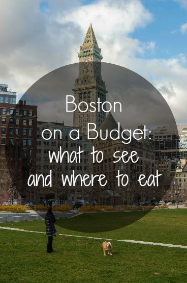 Planning a trip to Boston on a budget? Click on pin to see the best places to visit and where to eat to save some money!