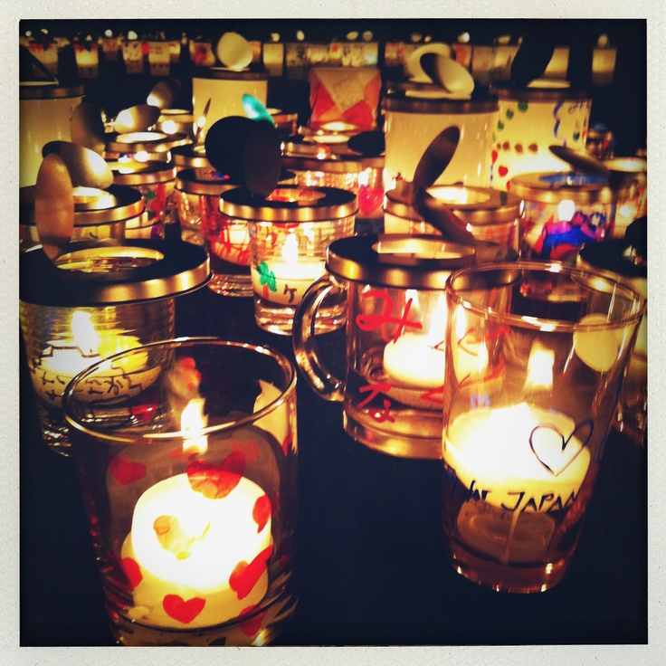 01 - candle night for 3.11 Tohoku Earthquake