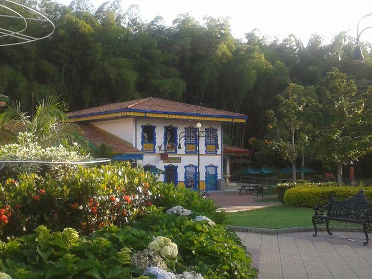 Parque del Cafe. Quindio. Colombia