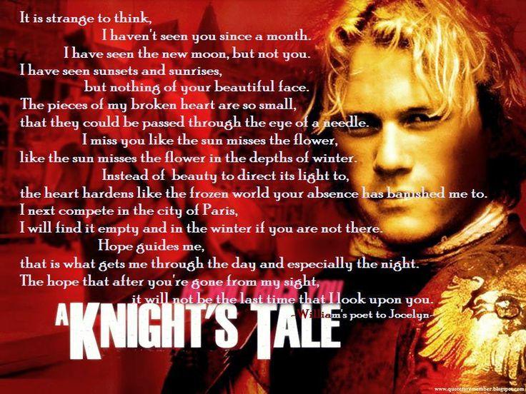 Best 25+ A Knight's Tale Ideas On Pinterest