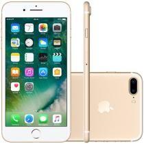 "iPhone 7 Plus Apple 256GB Dourado 4G 5,5"" - Câm. 12MP + Selfie 7MP iOS 10 Proc. Chip A10"