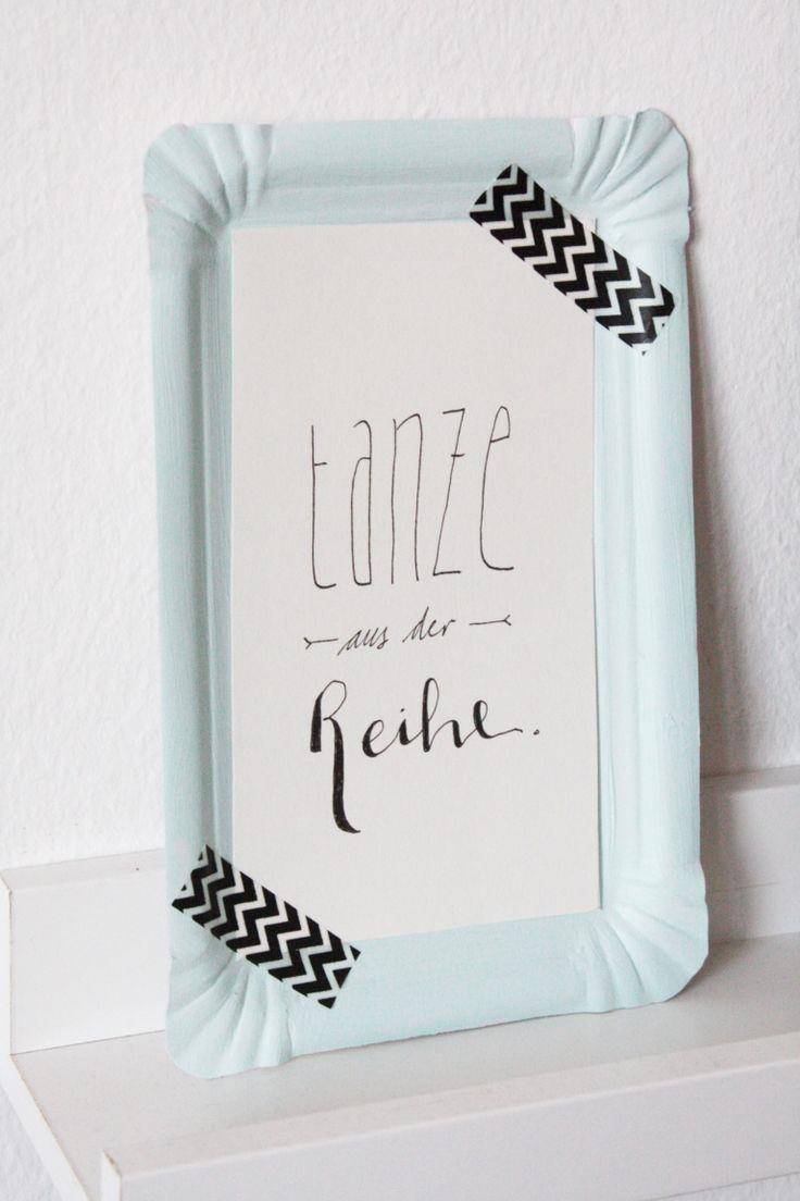DIY Wanddeko und Lettering Printable 5