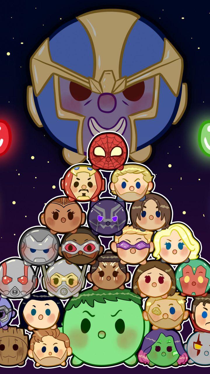 Infinity War Chibi Wallpaper