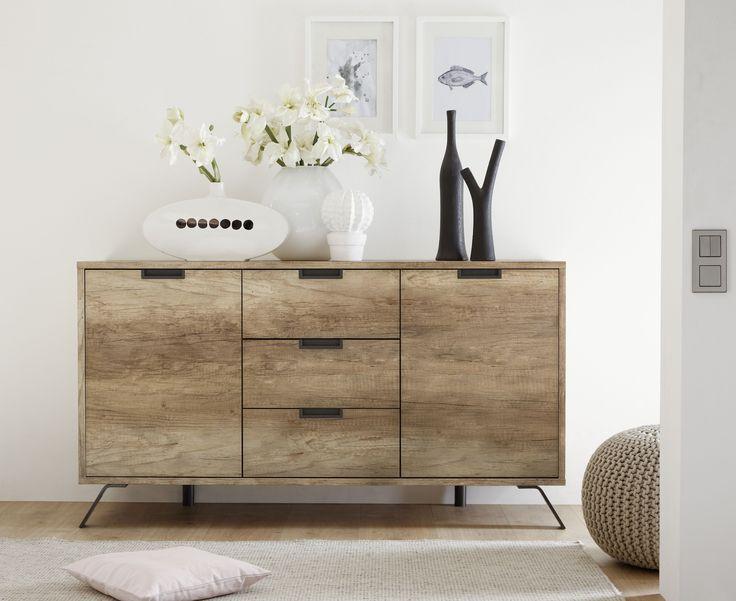 Sideboard Canyon Oak Nachbildung Woody 12 01305 Holz Modern Jetzt Bestellen Unter Https