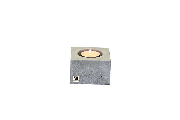 Świecznik Cobo Mini z betonu architektonicznego