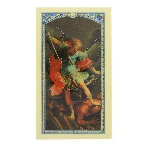 Prayer to St. Michael the Archangel - Prayer Card