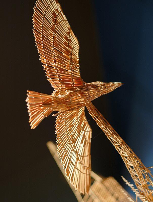 Toothpick art. Who knew?