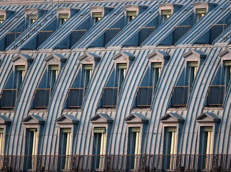 Les toits de Paris classés patrimoine mondial ? Toits parisiens sur une photo prise en septembre 2009.