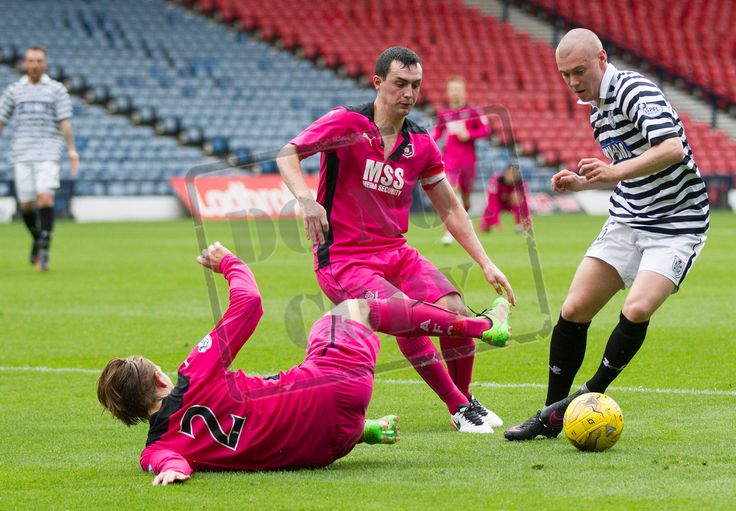 Queen's Park's Josh Watt in action during the Ladbrokes League One game between Queen's Park and Airdrieonians.