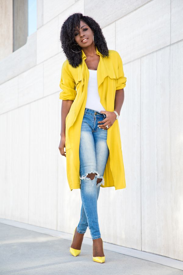 incredible outfit yellow and white 14