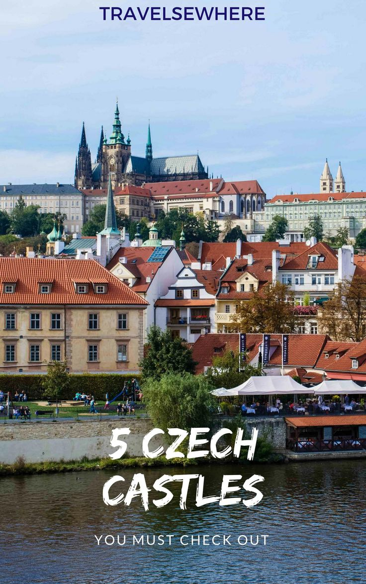5 Czech Castles to Check Out across the Czech Republic, from Prague to Brno and Cesky Krumlov, via @travelsewhere