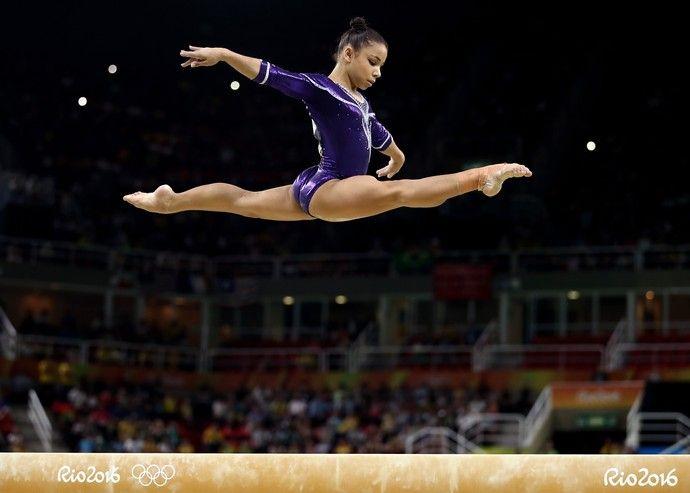 Flavia Saraiva ginástica artística (Foto: Getty Images)
