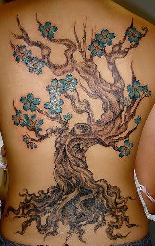 12 Ultra-prettty Tree Tattoos on Back