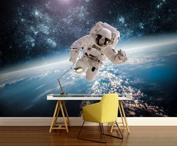 Ceiling Astronaut Wallpaper, Astronaut Wall Mural, Space Shuttle Wallpaper, Space  Shuttle Mural, Space Shuttle Wall Decal, Ceiling Decal