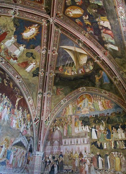 Cappellone degli spagnoli in Santa Maria Novella a Firenze