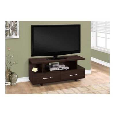 TV Stand with Drawers - Cappuccino - EveryRoom, Cappucino