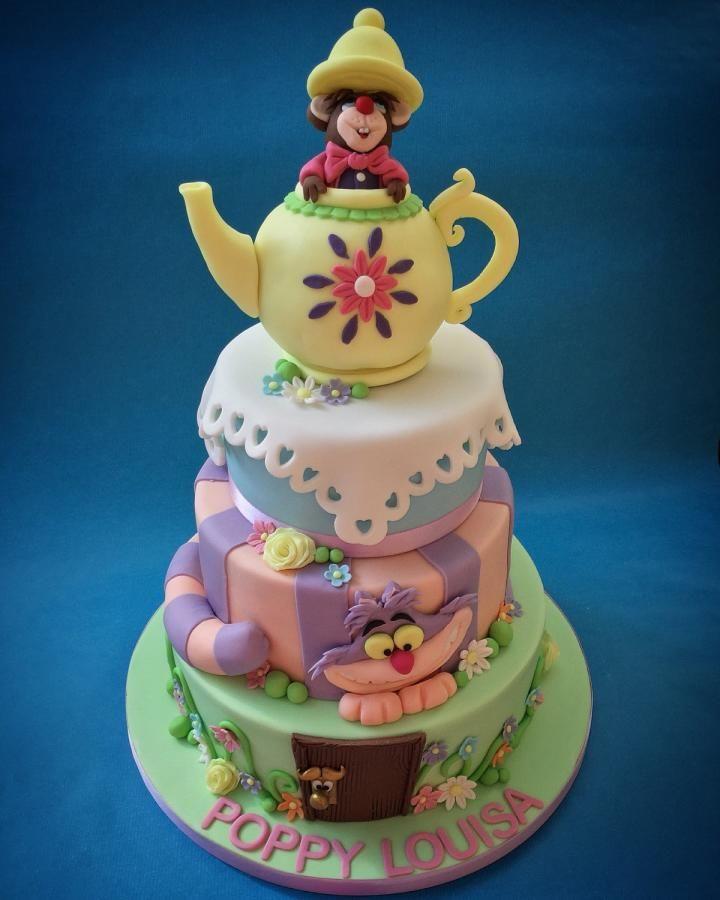 Alice in Wonderland for Poppy  by Caron Eveleigh
