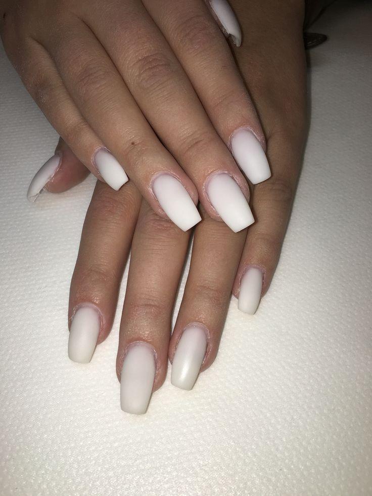 Vita matta naglar!