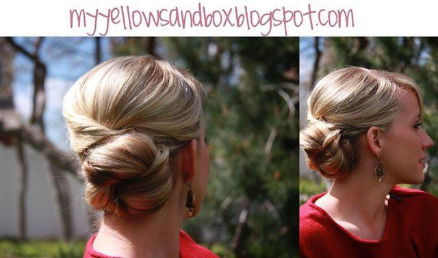 Great blog full of awesome hairstyle ideas: Hair Tutorials, Wedding Hair, Hairstyles Tutorials, Hair Style, Summer Hairstyles, Side Buns, Bridesmaid Hairstyles, Hair Buns, Fancy Buns