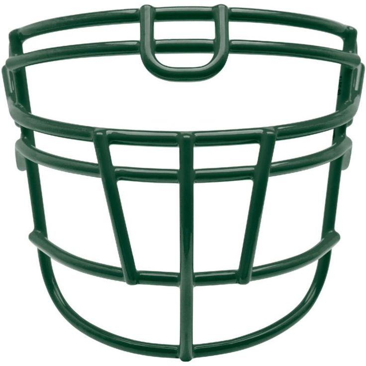 Schutt Varsity Super-Pro Rjop-UB-DW Titanium Football Facemask, Dark Green