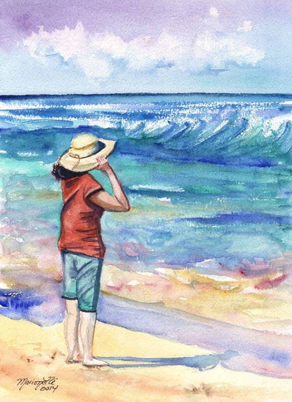 Beach Painting Pictures