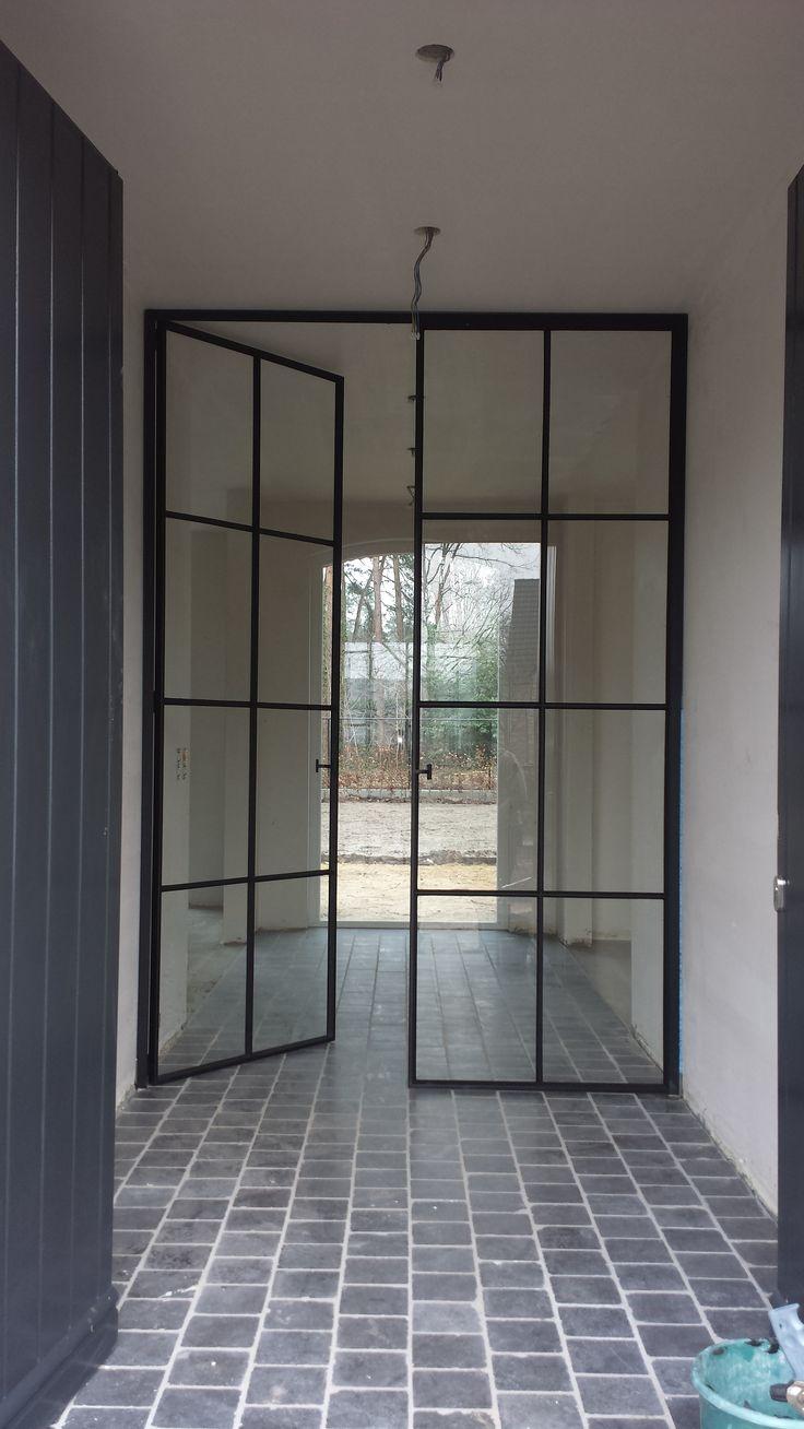 steel inside door made by european farriers