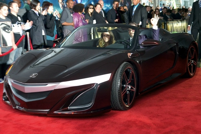 The Acura sports car from The Avengers