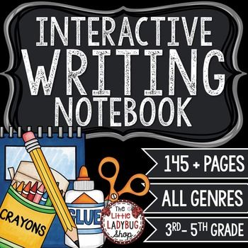 Writing Interactive Notebook • Interactive Writing Notebook