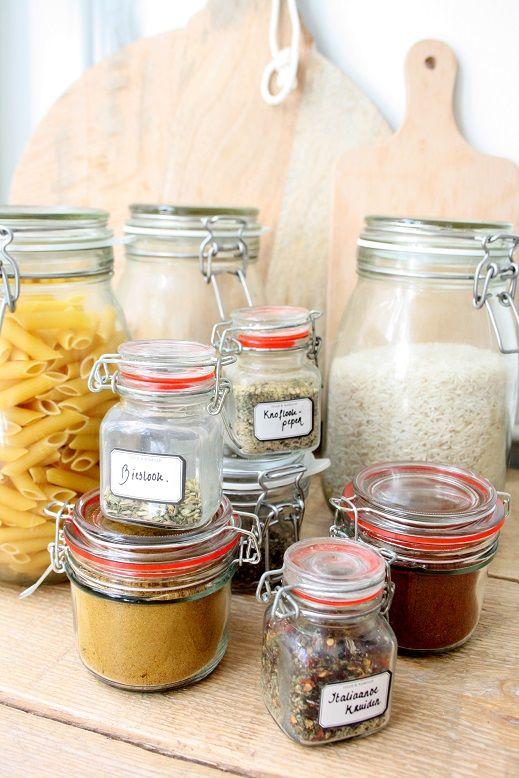 Tips voor het schoonmaken & opruimen!