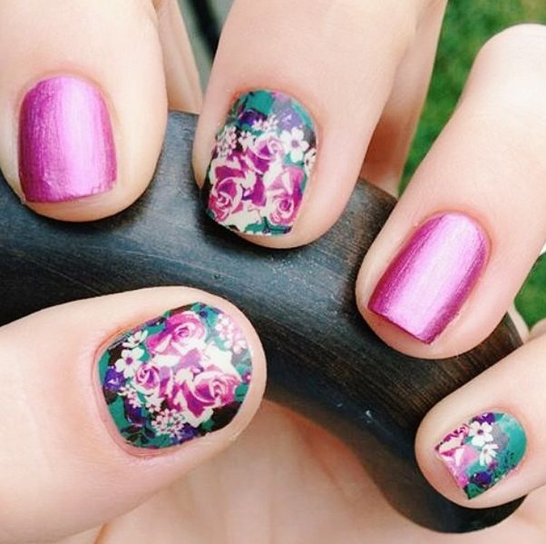 Imperial, these Jamberry Nail Wraps have a matte finish. Welcome to our flowery world, where intricate garden-inspired designs require no water or sunshine to bloom beautifully on your nails. From florals to lace, these GARDEN PARTY designs embrace the best of femininity. Get yours here: http://marciatennyson.jamberrynails.net