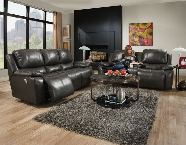 Reclining Leather Sofa Montana Collection From Franklin Recline Back Rest