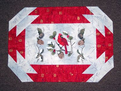 Christmas Placemats Quilting Pattern Free Cafca Info For