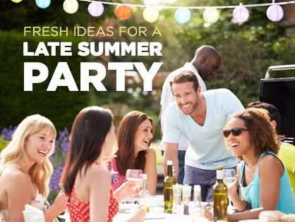 Fresh Ideas for a Late Summer Party