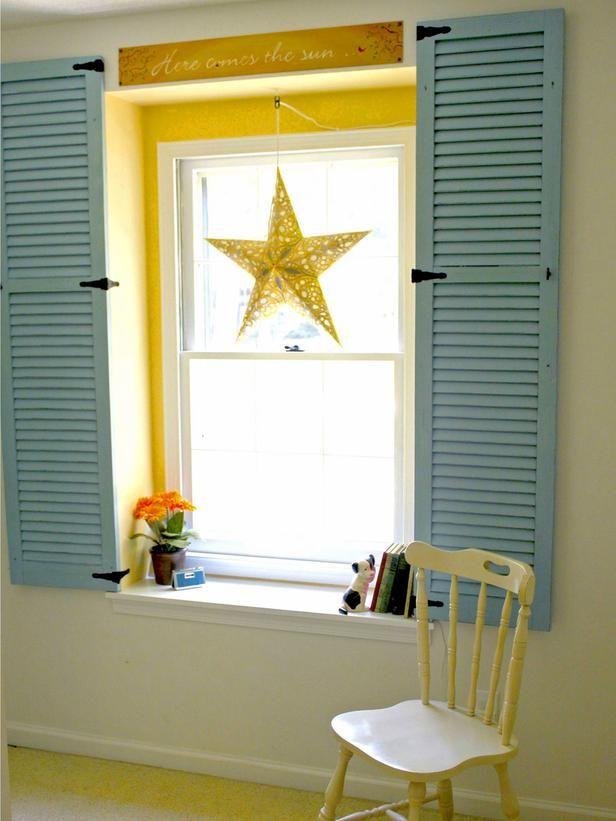 1000 Ideas About Interior Window Shutters On Pinterest