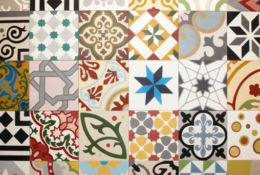 image: Best British Pattern: Tiles by Workhouse. These beautiful encaustic cement tiles are handmade in Tangiers in every design imaginable. £90 per sq m (workhousecollection.co.uk).
