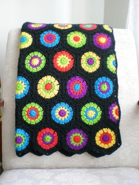 coberta em crochê inspiração