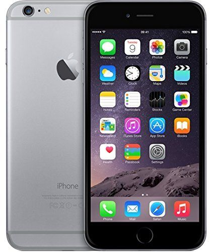 "cool Apple iPhone 6 Plus 5.5"" 64GB Space Grey Unlocked"
