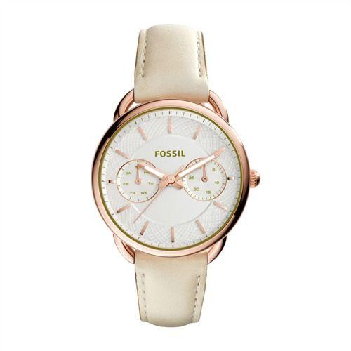 Fossil Multifunktions Damenuhr Leder Beige ES3954 http://www.thejewellershop.com/ #fossil #uhr #watch #woman #roségold #uhren #damen #schmuck #jewelry #leder #beige