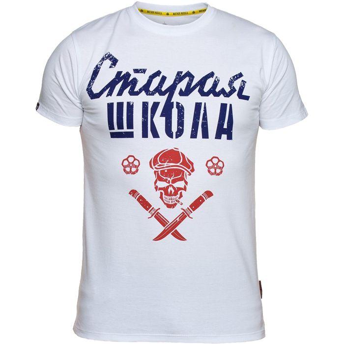 Футболка Mother Russia Старая школа mtrshirt0103 купить в интернет-магазине Fightwear