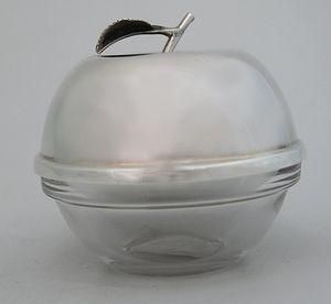 Dish for honey / sugar / sauce Sterling silver 925 WWW.STUBADI.COM